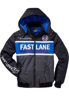 Куртка Regular Fit (антрацитовый/лазурный) Bonprix