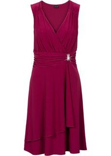 Платье с аппликацией (маджента) Bonprix