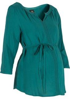 Деловая мода для беременных: туника (сине-зеленый) Bonprix