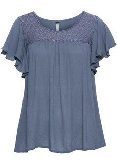 Шифоновая блузка (индиго) Bonprix
