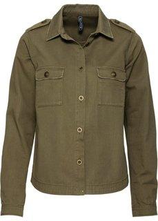 Легкая куртка (зеленый хаки) Bonprix