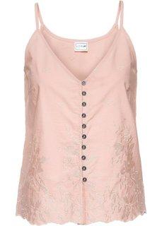 Топ (винтажно-розовый) Bonprix
