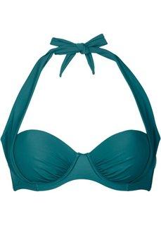 Бюстгальтер для купального костюма, чашка B (сине-зеленый) Bonprix