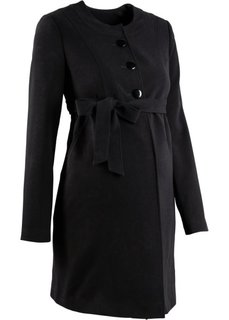 Мода для беременных: полупальто (черный) Bonprix