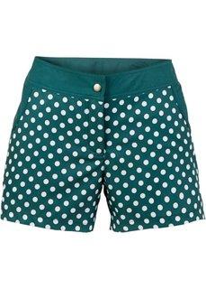 Купальные шорты (сине-зеленый/белый) Bonprix