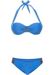 Купальный костюм-бикини (из двух предметов), чашка B (королевский синий) Bonprix