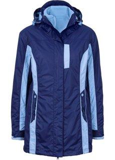Куртка 3 в 1 (ночная синь/нежно-голубой) Bonprix