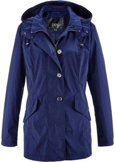 Легкая куртка с капюшоном (ночная синь) Bonprix