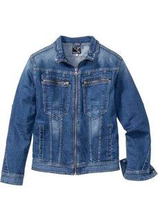 Джинсовая куртка-стретч Regular Fit (синий) Bonprix