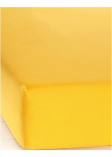 Простыня-чехол Линон (манго) Bonprix