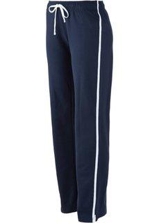 Трикотажные брюки (темно-синий) Bonprix