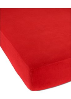 Простыня-чехол Фланель (красный) Bonprix