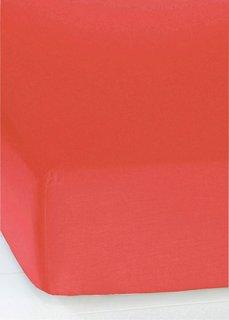 Простыня-чехол Линон (красный) Bonprix