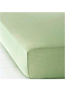 Простыня-чехол Фланель (зеленый) Bonprix