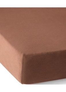 Эластичная простыня-чехол Джерси 40 см (шоколадный) Bonprix