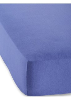 Натяжная простыня Джерси первый класс 40 см (синий) Bonprix