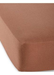 Натяжная простыня Джерси первый класс 40 см (шоколадный) Bonprix