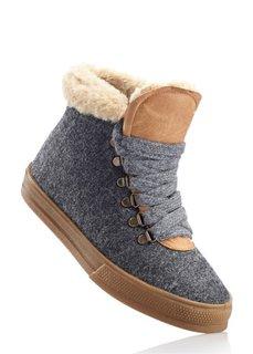 Зимние ботинки (антрацитовый) Bonprix