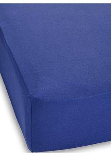 Простыня Эластичный джерси (синий) Bonprix