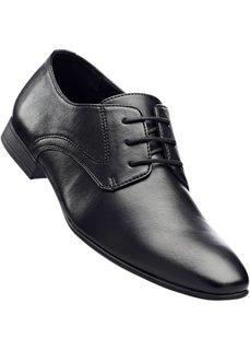 Мужские туфли со шнуровкой (черный) Bonprix