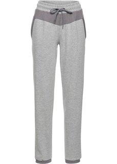 Длинные спортивные брюки (светло-серый меланж) Bonprix