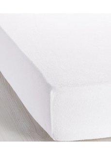 Эластичная простыня-чехол Махра (белый) Bonprix
