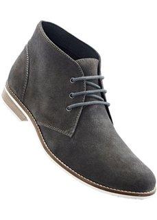 Замшевые ботинки (антрацитовый) Bonprix