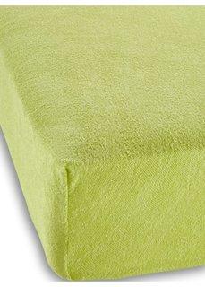 Махровая простыня-чехол для детской кровати (светло-зеленый) Bonprix
