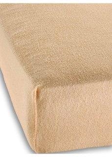 Махровая простыня-чехол для детской кровати (светло-коричневый) Bonprix