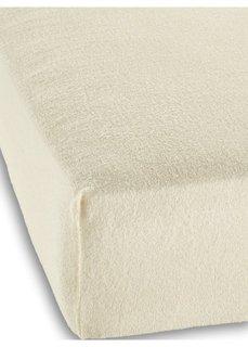 Махровая простыня-чехол для детской кровати (кремовый) Bonprix