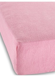 Махровая простыня-чехол для детской кровати (розовый) Bonprix
