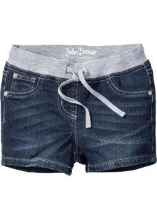 Очень мягкие шорты с эластичным поясом (темно-синий) Bonprix