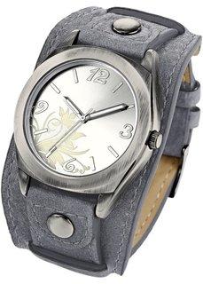 Часы Имке (светло-серый) Bonprix