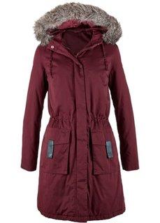 Модная длинная куртка-парка (кленово-красный) Bonprix