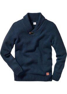 Пуловер (темно-синий) Bonprix