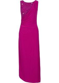 Вечернее платье макси (цвет фуксии) Bonprix