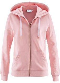 Трикотажная куртка (нежно-розовый) Bonprix