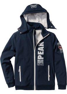 Куртка-софтшелл Regular Fit (темно-синий) Bonprix