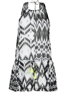 Пляжный комбинезон (черный/белый) Bonprix