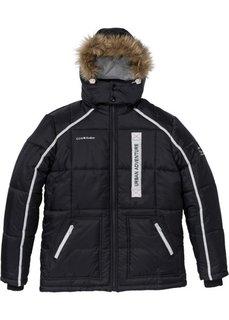 Стеганая куртка Regular Fit (черный) Bonprix