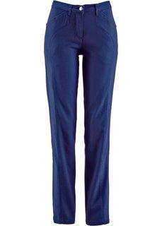 Комфортные брюки стретч, низкий рост (K) (ночная синь) Bonprix