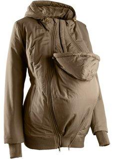 Куртка для беременных с двумя карманами (хаки) Bonprix