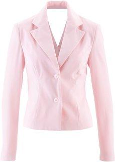 Жакет с вырезом в области спинки ПРЕМИУМ (нежно-розовый) Bonprix