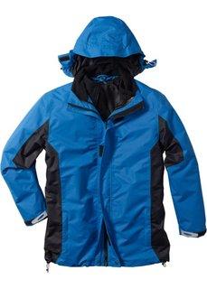 Функциональная куртка 3 в 1 стандартного покроя (синий/антрацитовый) Bonprix