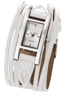 Женские наручные часы Эстель (белый) Bonprix