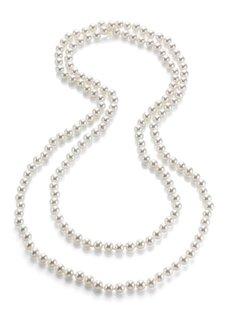 Цепочка из декоративных жемчужин (белый) Bonprix