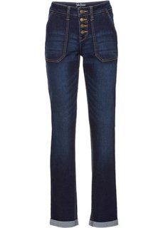 Стрейчевые джинсы, высокий рост (L) (темно-синий) Bonprix
