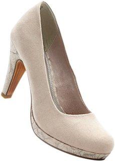 Туфли от Marco Tozzi (серо-коричневый) Bonprix
