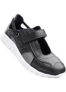 Кроссовки (черный/серый) Bonprix