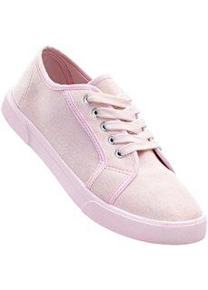 Кеды (нежно-розовый) Bonprix